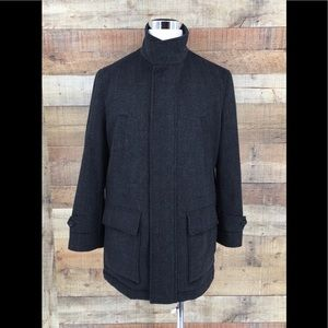 Robert Talbott Mens COAT Jacket MEDIUM WOOL BLEND